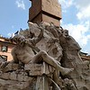 Fountain of the Four Rivers, Piazza Navona, Roma.