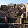 Another gorgeous day, this time in Pompeii with Mt. Vesuvius.