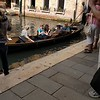 Clair and John in a Venetian gondola.
