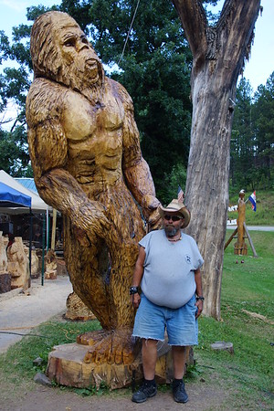 Chain saw carvings and other sights