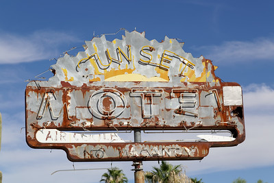 Old Motel, Wendon, AZ