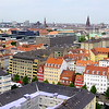 View from the top of Vor Frelsers Kirke