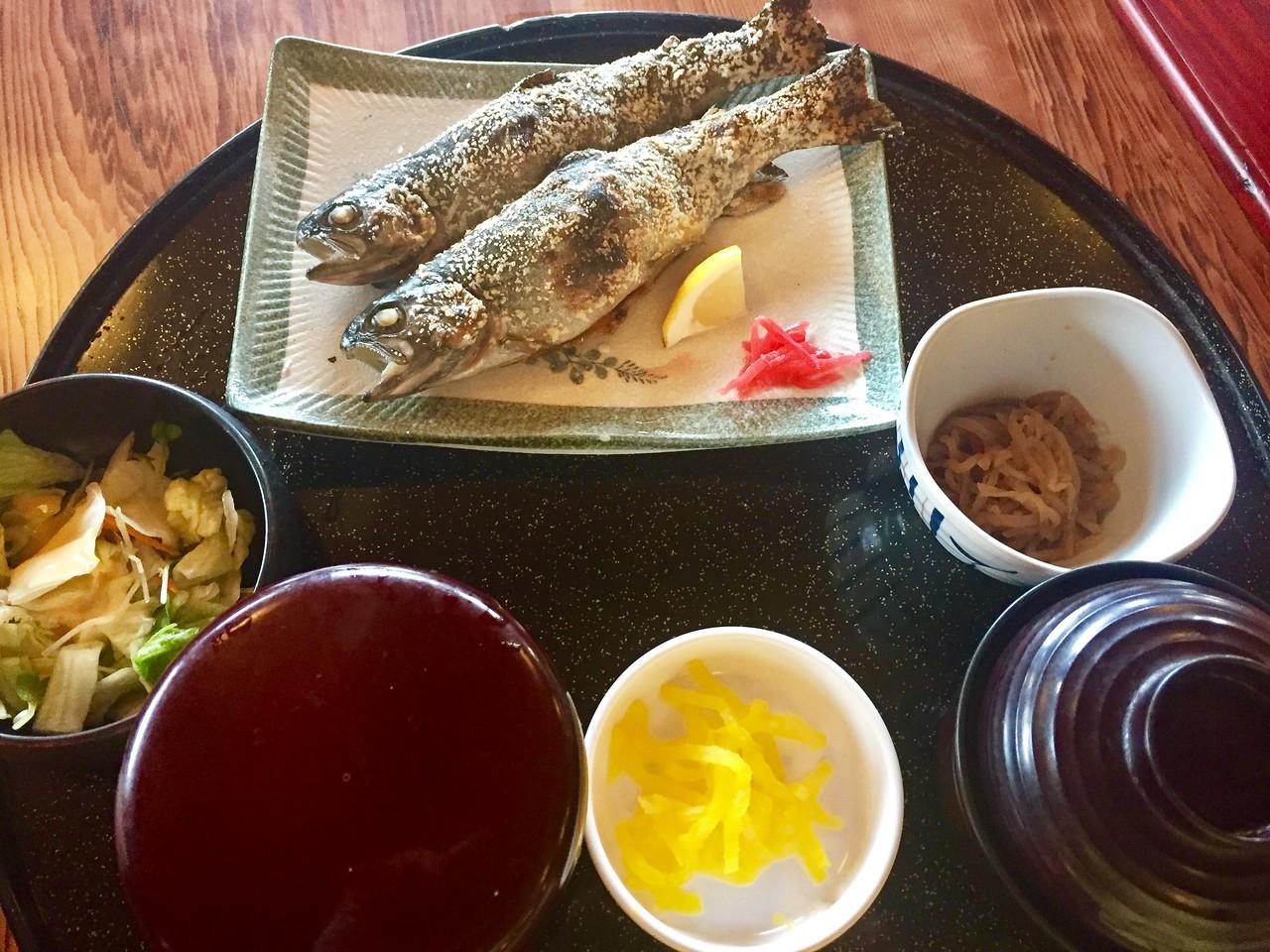 Vicky's fish dinner