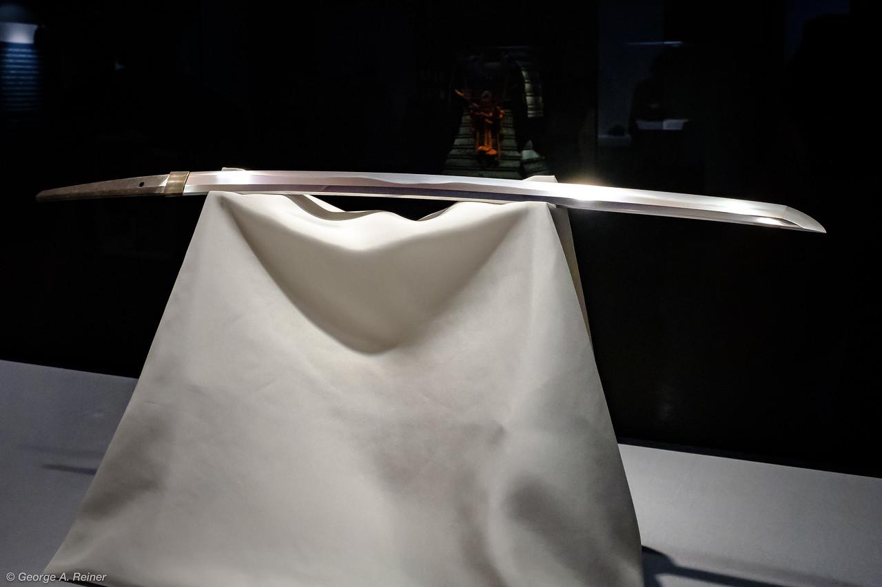 Tokyo National Museum - samurai sword