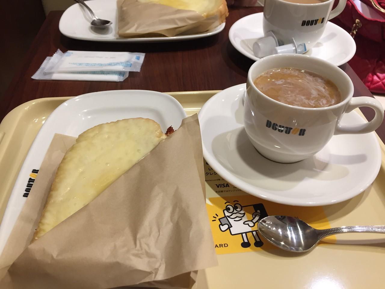 Breakfast around the corner