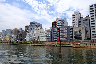 On the Sumida river