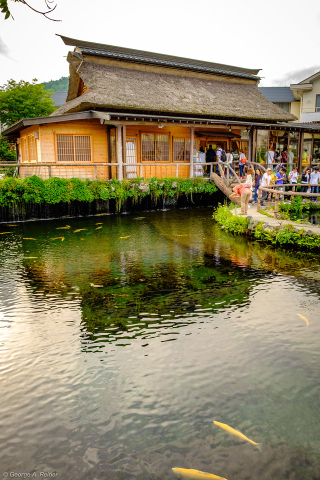 Oshino Hakkai springs