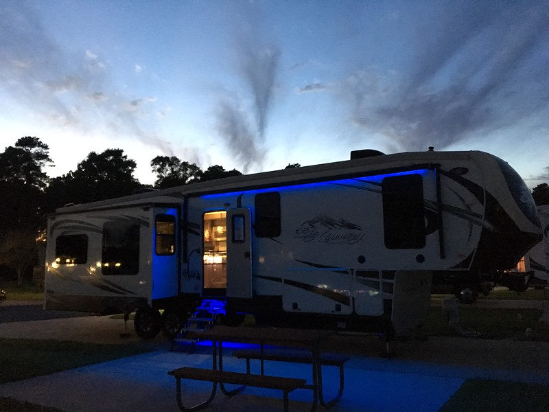 The RV Resort at Red Shoes Park, Kinder, Louisiana