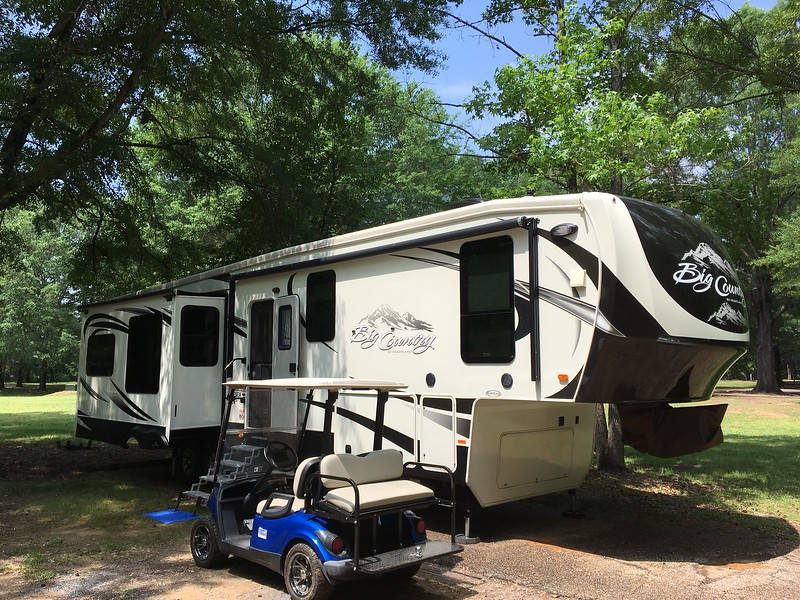 Fort Toulouse Campground, Wetumpka, Alabama