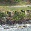 Ruins of fortifications on St. Lucia
