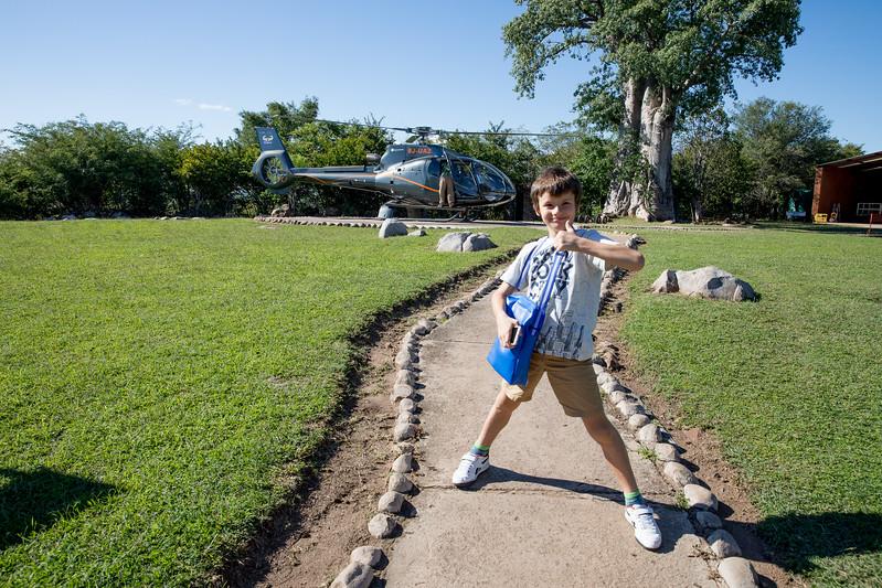Martin Jaros Jr Livingstone helicopter