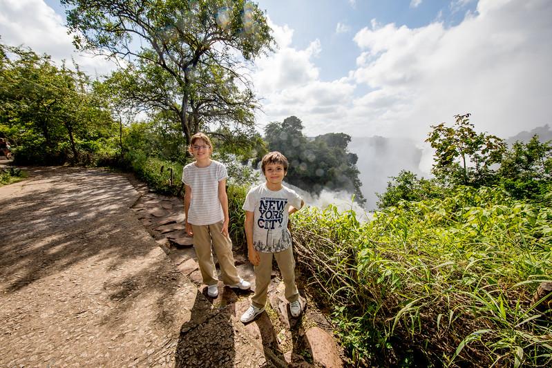 Zimbabwe Victoria Falls Timea Jarosova Martin Jaros