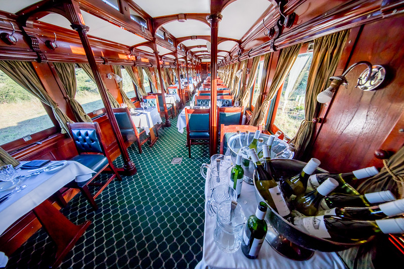 Royal Livingstone Express train Zambia Victoria Falls