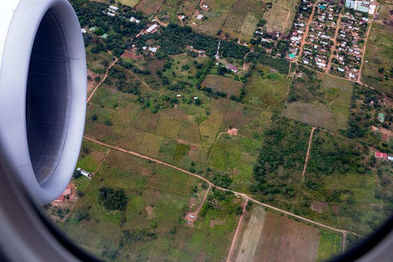 Lusaka aerial view
