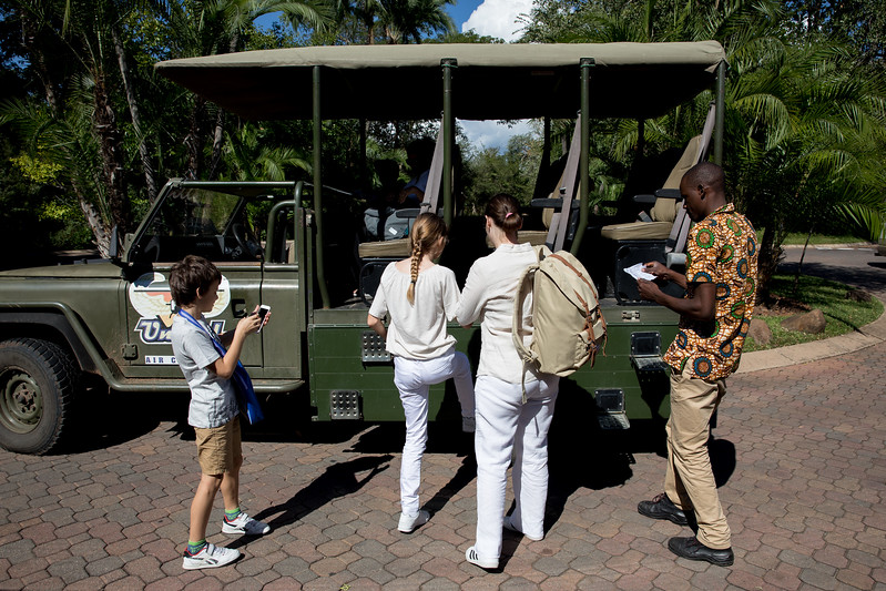 Livingstone Zambia safari car Africa