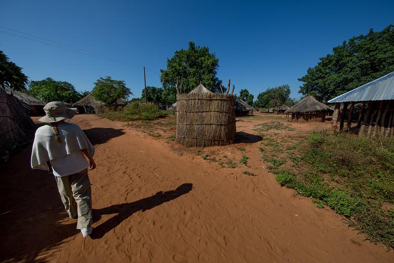 Mukuni village African Zambia
