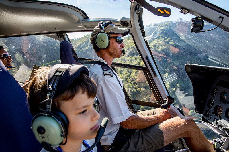 Martin Jaros Jr helicopter pilot Livingstone Zambezi