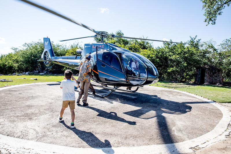Livingstone helicopter tour