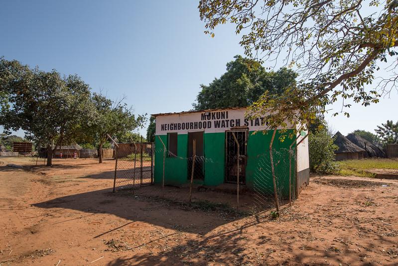 Mukuni village prison African village Zambia