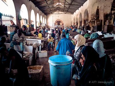 The Darajani Market ...