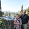Linda and Barney at Villa d'Este