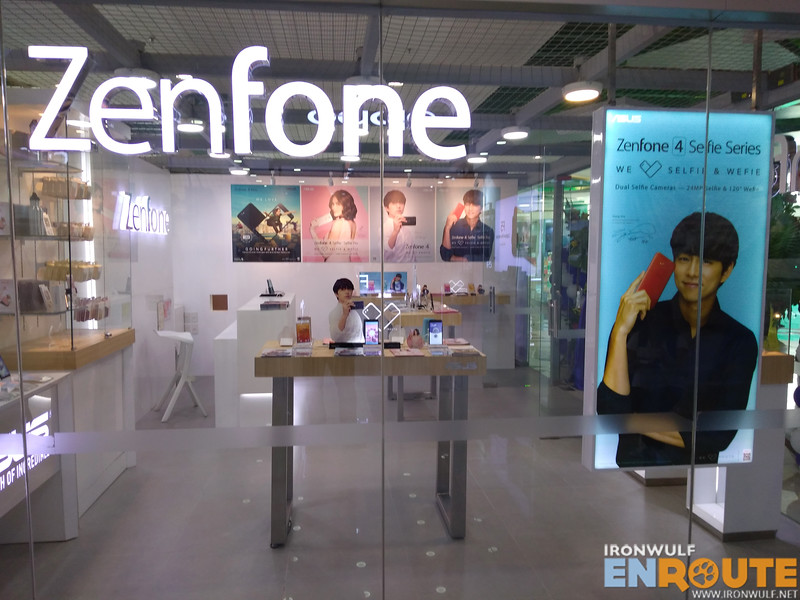 The first Zenfone concept store in Visayas at SM City Iloilo cyberzone