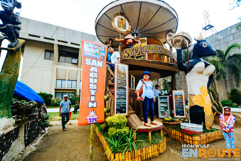 The Agri-tourism booth winner from San Agustin