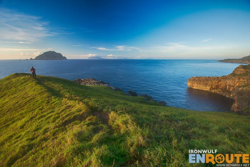 Ridge overlooking Dinem island