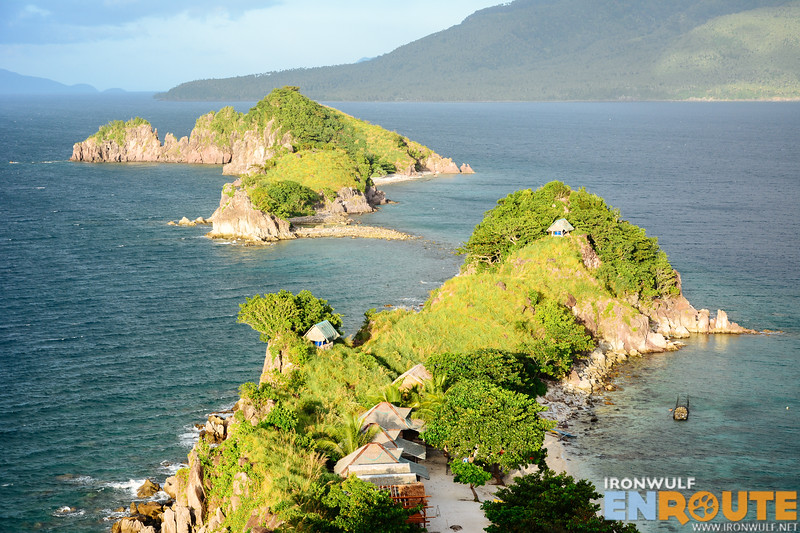 A closer look at the rocky islets