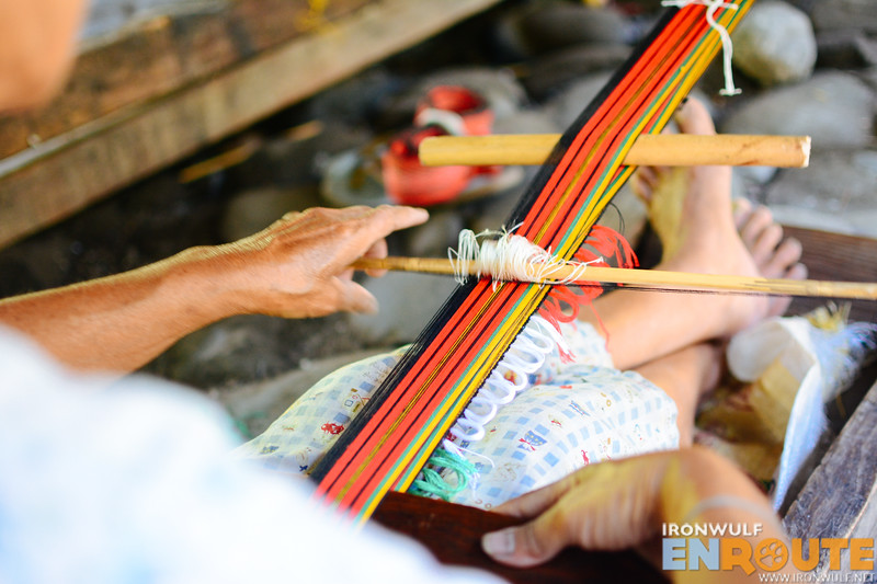 Weaving the pantig