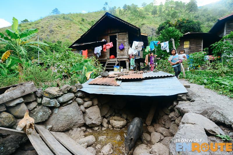 At the village of Chapyosen