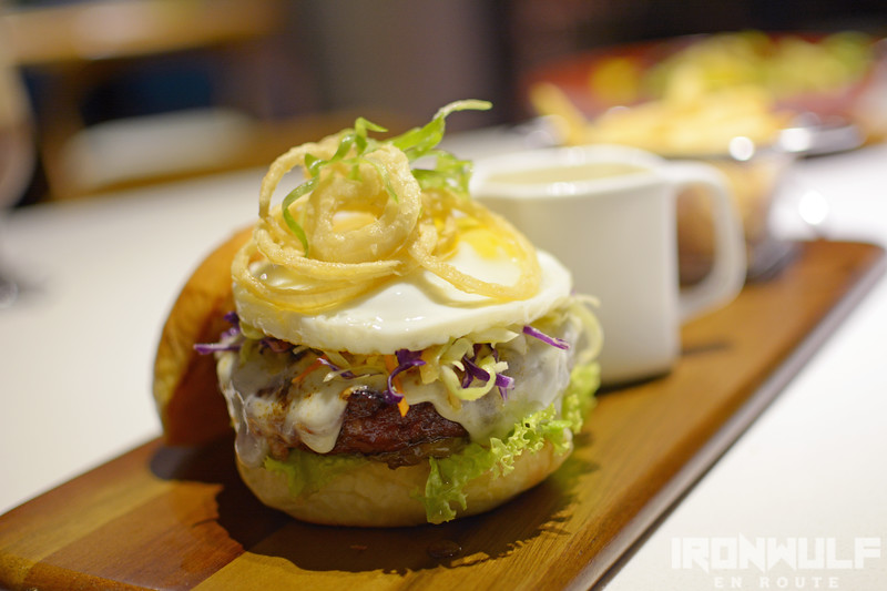 Their version of the island's Chori Burger