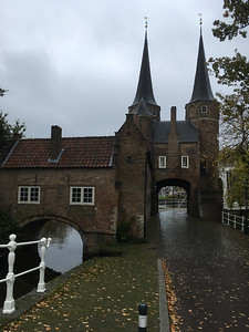 Oostpoort (Eastern-Gate) in Delft.