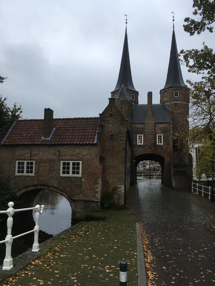 Oostpoort (Eastern-Gate) in Delft.