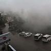 Bad weather at Dharamsala