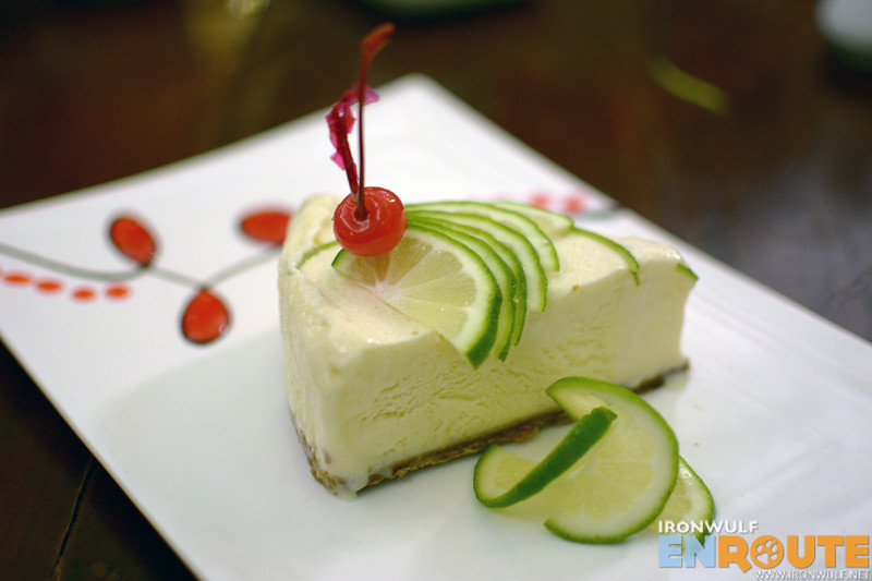 Must-try one of a kind dessert, Calamansi Pie