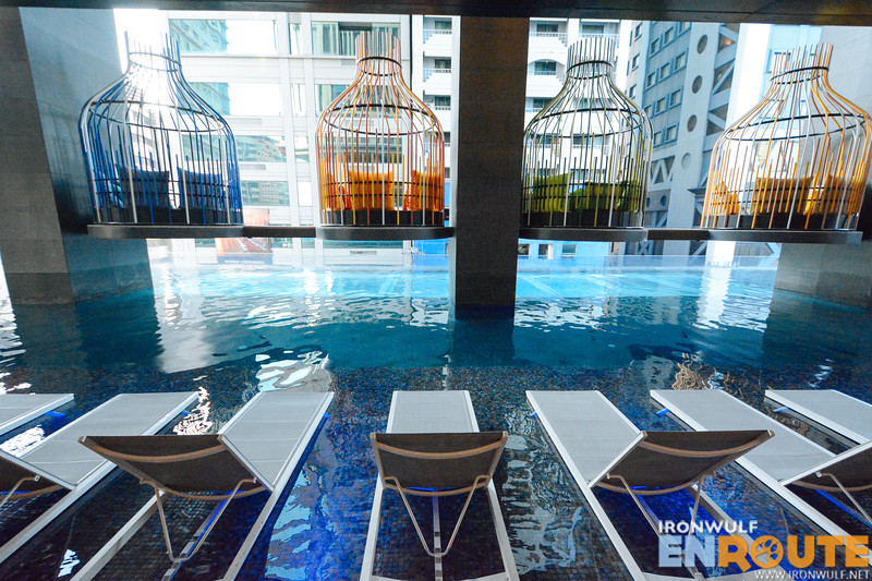 Enjoy the vibrant pool area