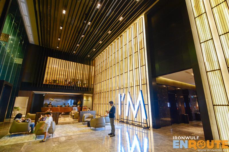 Lobby of I'm Hotel