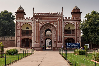 Entrance gate for Itmad-ud-Dauluh, aka the Baby Taj.