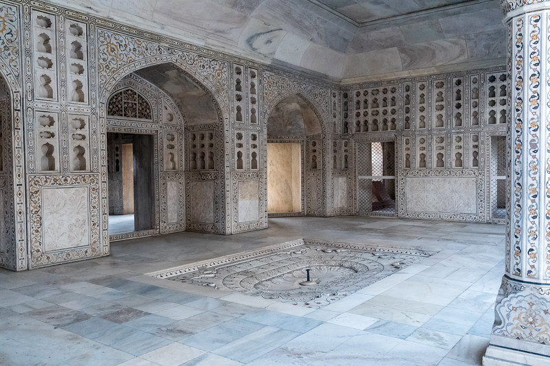 Shah-Burj - Shah Jehan's palace prison - Agra Fort.