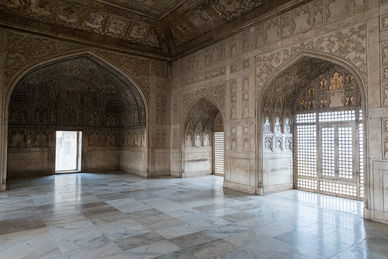 Shah Jehan's daughter's quarters - Agra Fort.