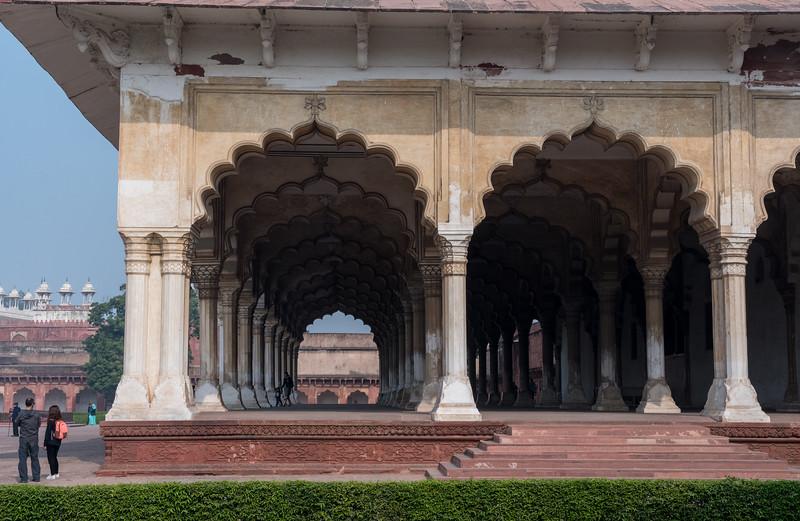 Diwan I Aam - Agra Fort.