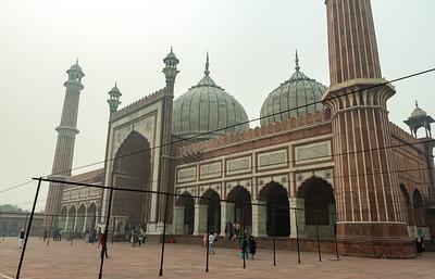 Jama Masjid mosque, Delhi.