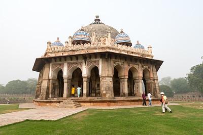 Isa Khan's tomb, near Humayun's tomb, Delhi.