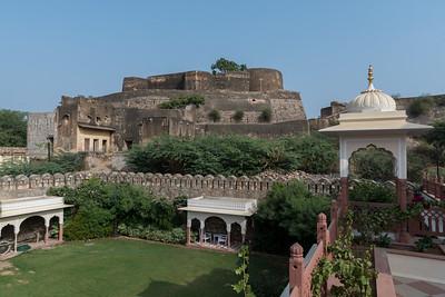 Fortress in Shahpura, Rajasthan.