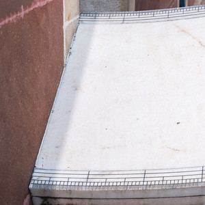 A sundial with 20s precision at Jantar Mantar observatory - Jaipur.