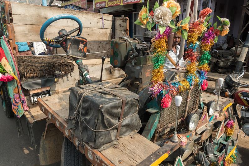 'Jagur' vehicle, village of Lalsot, Rajasthan.