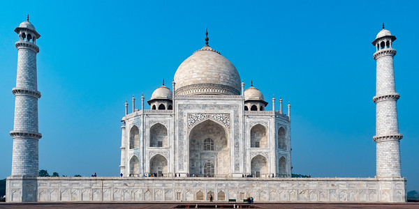 Taj Mahal from the east side.