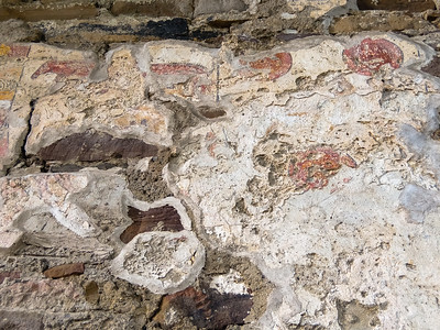 Some of the original plaster and painting around the altar at Jerpoint Abbey still survives 500+ years after it was last used by a religious order.