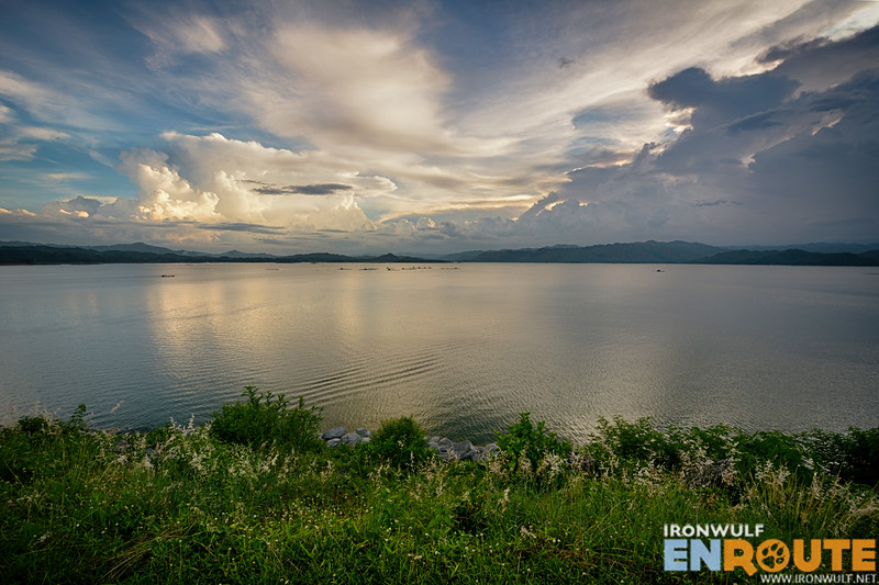Tranquil afternoons with view of the Magat River and surrounding mountains